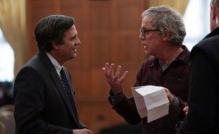 Mark Ruffalo dirigé par Todd Haynes sur le tournage de «Dark Waters»