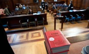 Palais de justice. Illustration.Photo : Sebastien Ortola