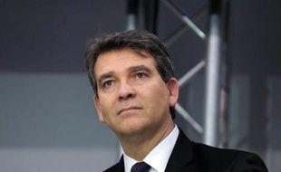 L'ex-ministre de l'Economie, Arnaud Montebourg, le 4 décembre 2014 à Paris