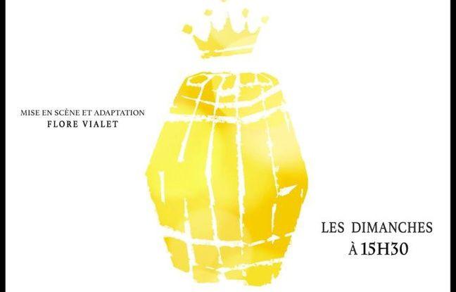 Affiche officielle du ballet - théâtre Le Bourgeois Gentilhomme