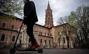 Des tags satanistes avaient été retrouvés sur les murs de la basilique Saint-Sernin de Toulouse. (Illustration)