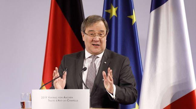 Le successeur potentiel d'Angela Merkel la critique sur l'Europe