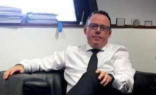Le procureur de la République de Rennes Philippe Astruc, ici dans son bureau en mars 2020.