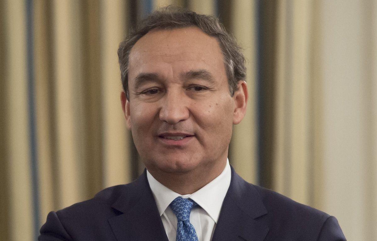 Oscar Munoz, patron de United Airlines, à Washington le 9 février 2017.  – SAUL LOEB / AFP