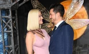 La chanteuse Katy Perry et l'acteur Orlando Bloom.