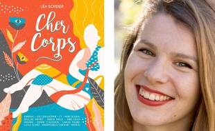 La couverture du recueil « Cher corps » et Léa Bordier, sa créatrice