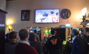 Contrairement au quart de finale retour contre Besiktas, l'Eden Rock Café n'a jamais pu s'enflammer ce mercredi.