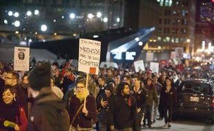 """La ministre québécoise de l'Education, Line Beauchamp, a démissionné dans l'espoir de provoquer un """"électrochoc"""" pour débloquer le conflit étudiant le plus long de l'histoire de la province, autour de la hausse des frais de scolarité"""
