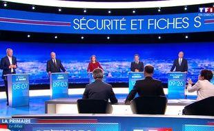 Le premier débat de la primaire à droite, sur TF1, le jeudi 13 octobre.