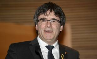 Carles Puigdemont, le 22 mars 2018.