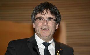 Carles Puigdemont, le 22 mars 2018.