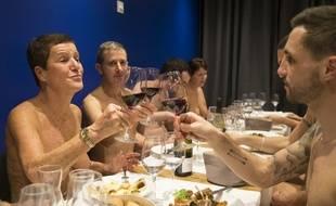 Le 5 décembre 2017, à Paris, le restaurant naturiste