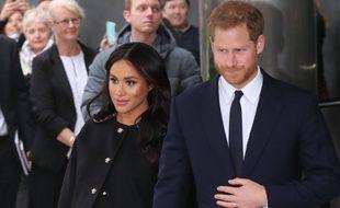 Harry et Meghan, le 19 mars 2019.