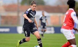 Charlotte Bilbault, milieu de terrain des Girondins de Bordeaux.