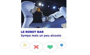 Montage Tinder avec le Robot Bar de Realtime Robotics, présenté à Viva Technology