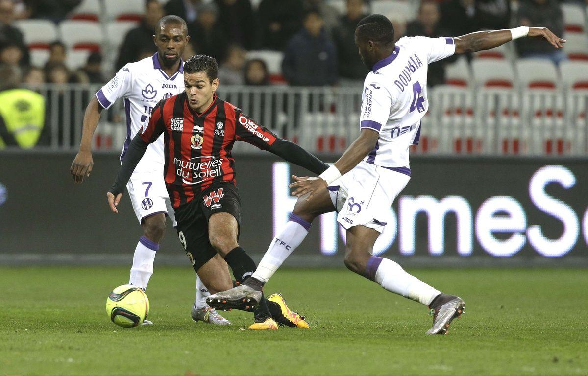 Hatem Ben Arfa lors de la victoire de Nice face à Toulouse (1-0), le 3 février 2016.  – Lionel Cironneau/AP/SIPA