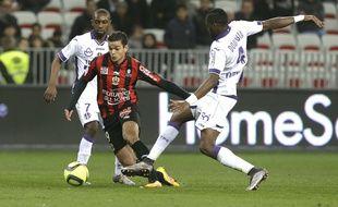 Hatem Ben Arfa lors de la victoire de Nice face à Toulouse (1-0), le 3 février 2016.