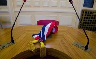 Illustration d'une écharpe de maire.
