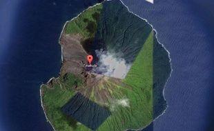 L'île de Tinakula.