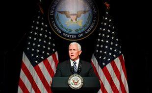 Le vice-président des Etats-Unis Mike Pence a annoncé jeudi la création d'une force de l'espace. CHINE NOUVELLE/SIPA