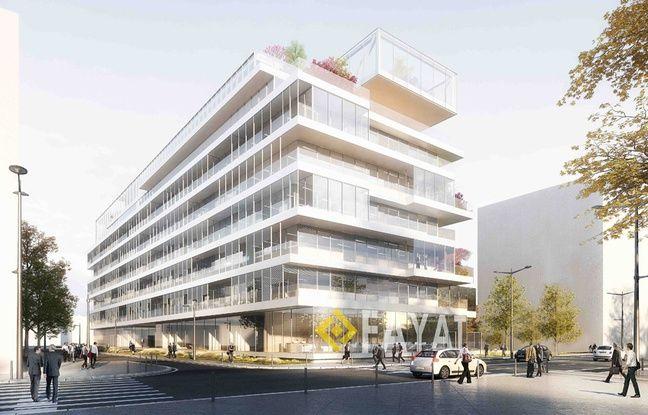 Le projet d'immeuble Insight par Fayat, sur la rive droite de Bordeaux