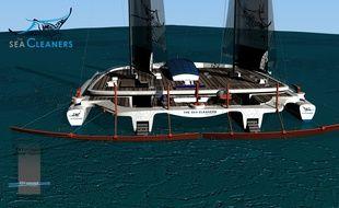 Le Manta fera 60 mètres de long pour 49 mètres de large.