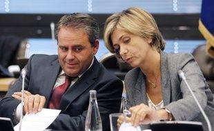 Xavier Bertrand et Valérie Pécresse en 2011