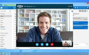 Un entretien via Skype