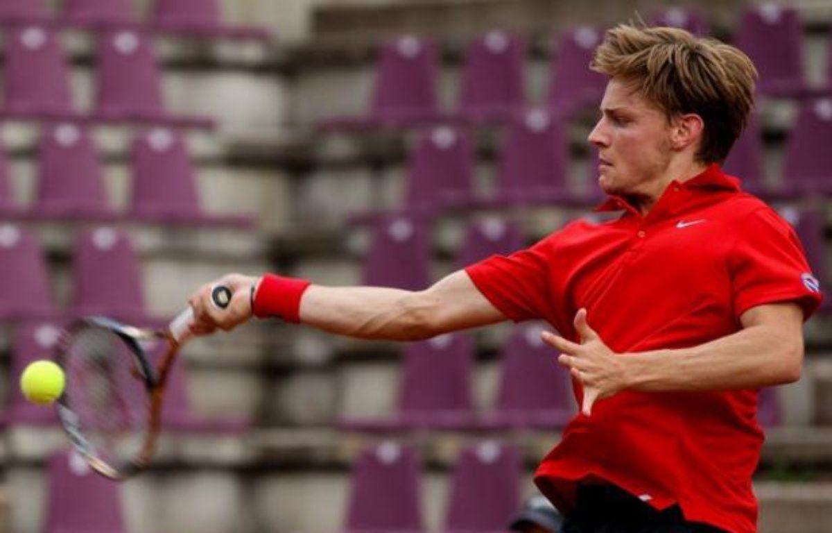Privée notamment de Robin Soderling, atteint d'une mononucléose et sorti récemment du classement ATP, la Suède a subi un cinglant 5-0 à Bruxelles contre la Belgique, emmenée par le prometteur David Goffin – Virginie Lefour afp.com