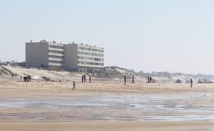 L'immeuble Le Signal, à Soulac-sur-Mer (Gironde), en mai 2018.