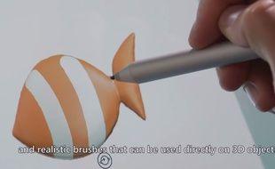 Une vidéo présente les fonctionnalités 3D de «Paint».