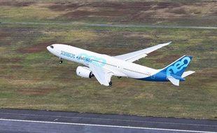 L'A330-800 a pris son envol pour la première fois le 6 novembre 2018 pour son premier vol d'essai.