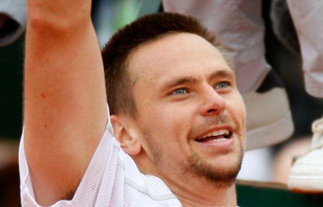 Le Suèdois Robin Soderling, le 31 mai 2009 à Roland-Garros.