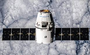 La capsule Dragon, de SpaceX.