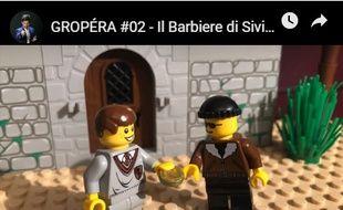 Le chef d'orchestre Marc Leroy Calatayud a créé des vidéos avec des Lego qui racontent l'opéra