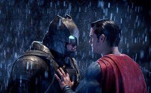 Ben Affleck et Henry Cavill dans Batman v Superman: L'aube de la justice de Zack Snyder