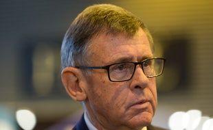 Georges Plassat, alors PDG de Carrefour, en octobre 2016.