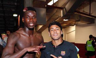 Pogba et Neymar