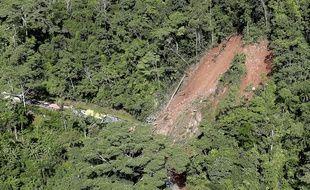 Une photo aérienne après le séisme au Pérou en mai 2019.