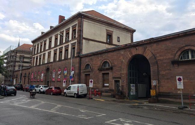 La manufacture des tabacs de Strasbourg.