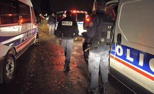 Illustration. Policiers en opération à Strasbourg.