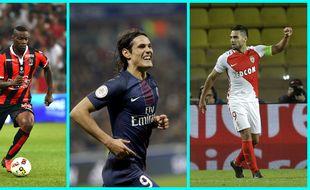 Mario Balotelli, Edinson Cavani et Falcao sont les buteurs rois de la Ligue 1