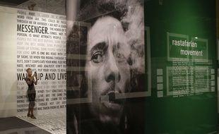 Une exposition sur Bob Marley, en octobre 2013, à Miami (Floride).