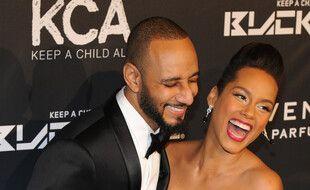 Les époux Swizz Beatz et Alicia Keys