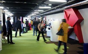 Le forum de recrutement numérique organisé en 2017 dans les murs de la French Tech Rennes Saint-Malo, au Mabilais.