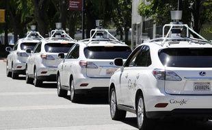 Des Lexus autonomes modifiées par Google.