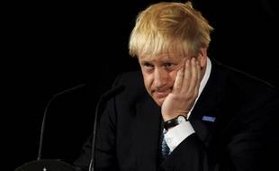 Le premier ministre britannique Boris Johnson, le 27 juillet 2019 à Manchester.