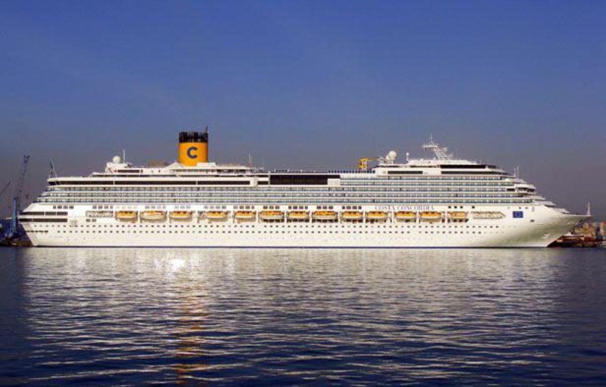 Le Costa Concordia. Le navire de luxe a fait naufrage le 13 janvier 2012, au large de la Toscane, en Italie. – Aleksey Markin/AP/SIPA
