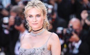 L'actrice Diane Kruger au Festival de Cannes