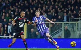 Antoine Devaux et le TFC peuvent s'éloigner quasi définitivement de la zone rouge s'ils battent Auxerre, demain.